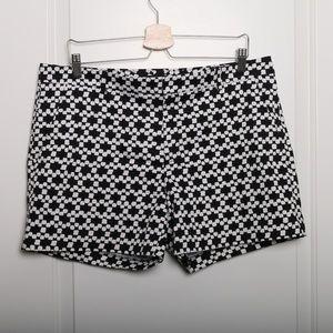 Avalon Black and White Shorts